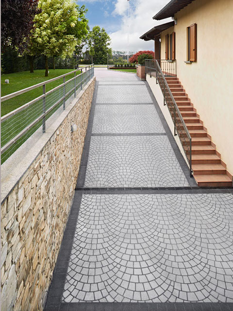 Cemento stampato pavimento architettonico matino lecce - Pavimento esterno cemento stampato prezzi ...